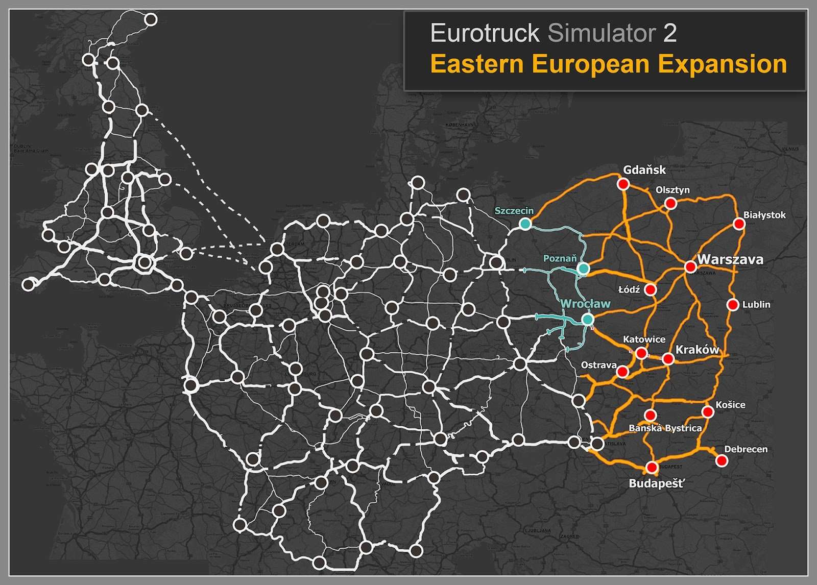 EuroTruck Simulator 2 Eastern European Expansion