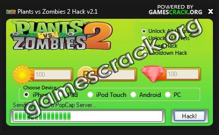 Plants vs Zombies 2 Hack Cheats