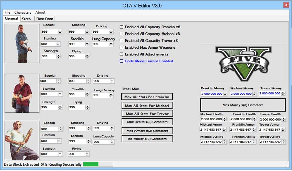 GTA 5 Editor
